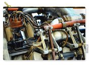 Curtiss Ox-5 Airplane Engine Carry-all Pouch by Michelle Calkins