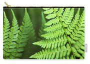 Curved Fern Leaf Carry-all Pouch