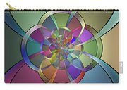 Curves Carry-all Pouch by Sandy Keeton