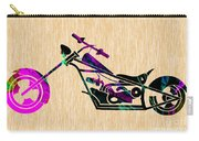 Custom Chopper Motorcycle Carry-all Pouch