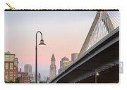 Custom House And Zakim Bridge Carry-all Pouch
