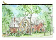 House Portrait Or Rendering Sample Carry-all Pouch