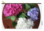 Cut Hydrangeas Carry-all Pouch