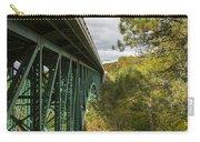 Cut River Bridge 3 A Carry-all Pouch