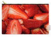 Cut Strawberries Carry-all Pouch