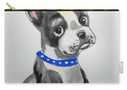 Boston Terrier Wall Art Carry-all Pouch