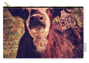 Cute Calf Grunge Carry-all Pouch by Cassie Peters