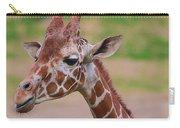 Cute Giraffe Portrait  Carry-all Pouch