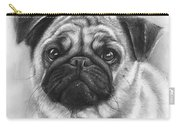 Cute Pug Carry-all Pouch