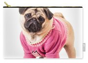 Cute Pug Wearing Sweater Carry-all Pouch