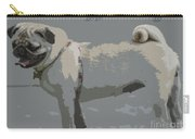 Cute Puggy Dog Carry-all Pouch