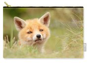 Cutie Face _red Fox Kit Carry-all Pouch