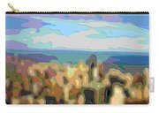 Cutout Art Ocean Skyline Carry-all Pouch