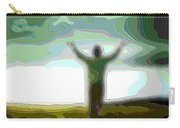Cutout Layer Art Uplifted Carry-all Pouch