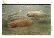 Cutthroat Trout In The Spring Idaho Carry-all Pouch by Michael Quinton