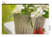 Cutting Orange Blossom Carry-all Pouch