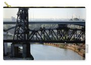 Cuyahoga River Cleveland Flats Carry-all Pouch