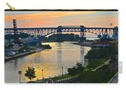 Cuyahoga River Cleveland Ohio Carry-all Pouch