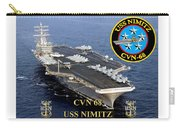Cvn-68 Uss Nimitz  Carry-all Pouch