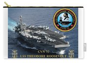 Cvn-71 Uss Theodore Roosevelt Carry-all Pouch