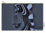 Bluegray Zebra Carry-all Pouch