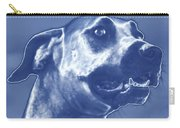 Cyanotype Dog Carry-all Pouch