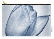 Cyanotype Tulip Carry-all Pouch