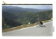 Cycling In Greek Mountains Carry-all Pouch
