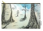 Cypress In Ink Carry-all Pouch