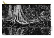 Cypress Roots - Bw Carry-all Pouch