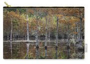 Cypress Tree Fall Reflections Carry-all Pouch