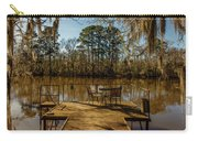 Cypress Trees At Caddo Lake State Park Carry-all Pouch