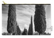 Cypress Trees - Tuscany Carry-all Pouch