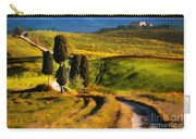 Cypresses Of Toscany Carry-all Pouch