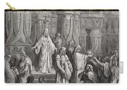 Cyrus Restoring The Vessels Of The Temple Carry-all Pouch by Gustave Dore