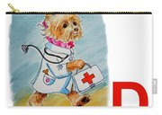 D Art Alphabet For Kids Room Carry-all Pouch