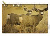 D Is For Deer Carry-all Pouch