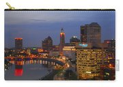 D101l Columbus Ohio Night Skyline Photo Carry-all Pouch