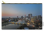D2l448 Columbus Ohio Night Skyline Photo Carry-all Pouch