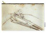 Da Vinci Flying Machine 1485 Carry-all Pouch