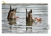 Dabbling Duo Of Ducks Carry-all Pouch