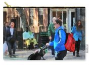Daddy Pushing Stroller Greenwich Village Carry-all Pouch