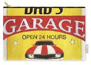 Dad's Garage Carry-all Pouch by Debbie DeWitt