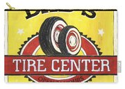 Dad's Tire Center Carry-all Pouch by Debbie DeWitt