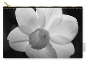 Daffodil Bw Carry-all Pouch