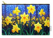 Daffodil Dance Carry-all Pouch