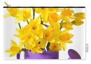 Daffodil Display Carry-all Pouch by Amanda Elwell