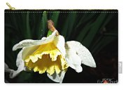 Daffodil In The Rain 2 Carry-all Pouch