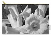 Daffodil Monochrome Study Carry-all Pouch