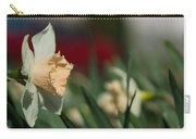 Daffodil With A Splash Of Red Carry-all Pouch